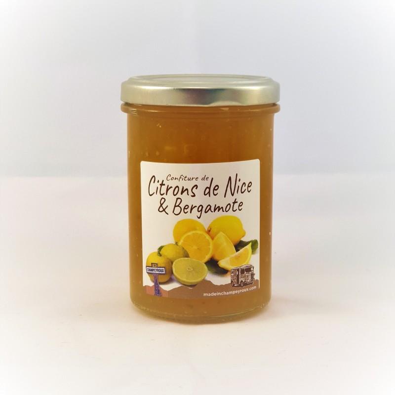 Confiture de Citrons de Nice et Bergamote