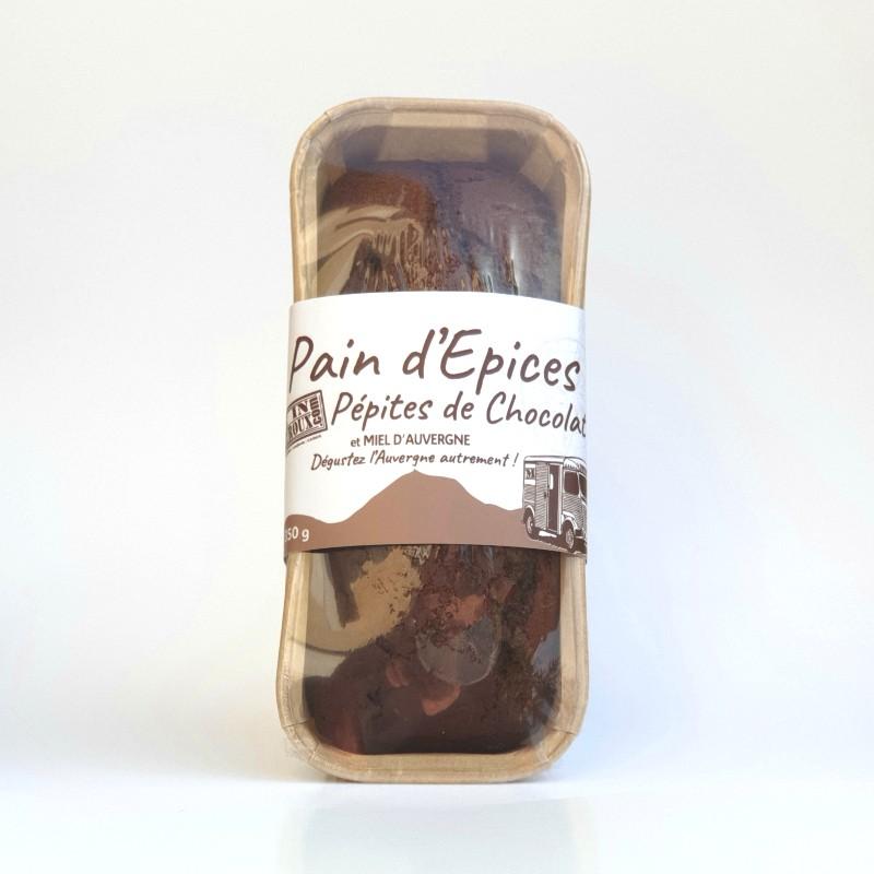 Pain d'épices pépites de chocolat