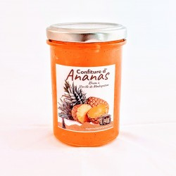 Confiture ananas rhum vanille