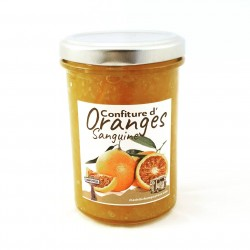 Confiture d'orange sanguine