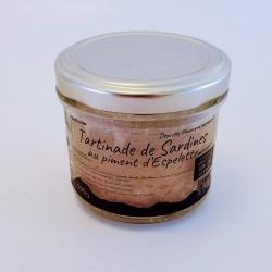Tartinade de sardine aux...