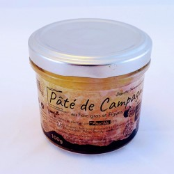 Pâté au Foie gras et figues